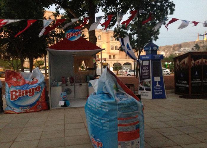 Bingo Diyarbakır Çadır Aktivitesi